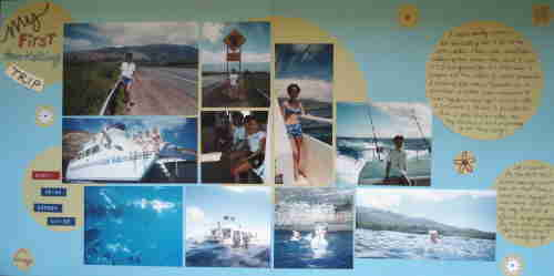 10 Simple Vacation Scrapbooking Layouts Ideas For Beginners