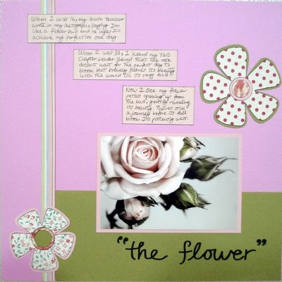 What Represents You Scrapbooking Layout