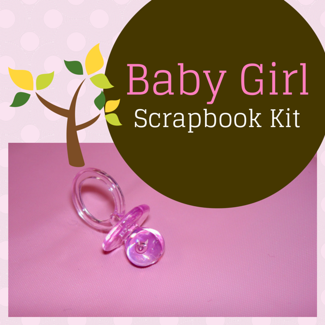 Baby girl scrapbook kit everything about scrapbooking com