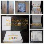 I purchased a Pioneer D-ring album, Project Life Honey Core Kit and Project Life Design A Photo Pocket pages from Amazon.