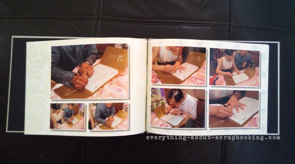 Pages from my ROM photobook.