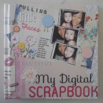 Hard coverpage of my digital scrapbook photobook.